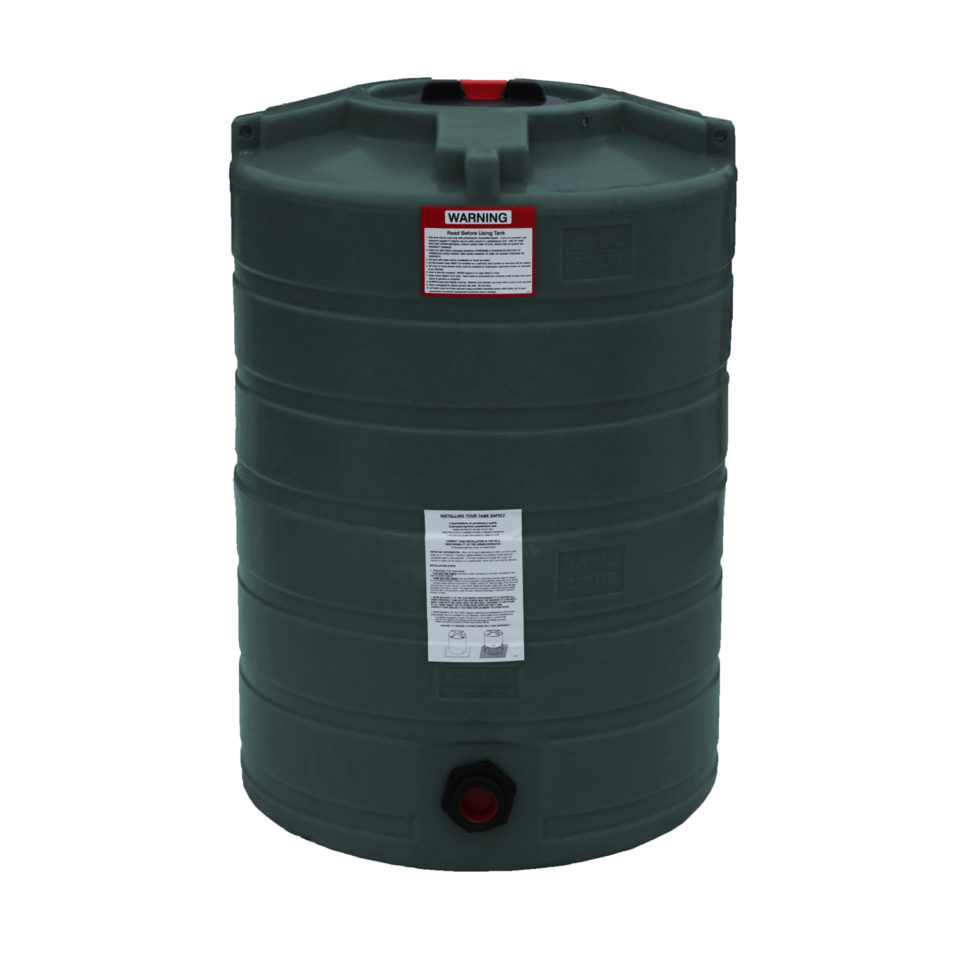 Enduraplas 100 Gallon Water Storage Tank