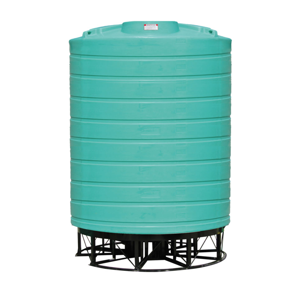 Enduraplas 10,000 Gallon Cone Bottom Storage Tank