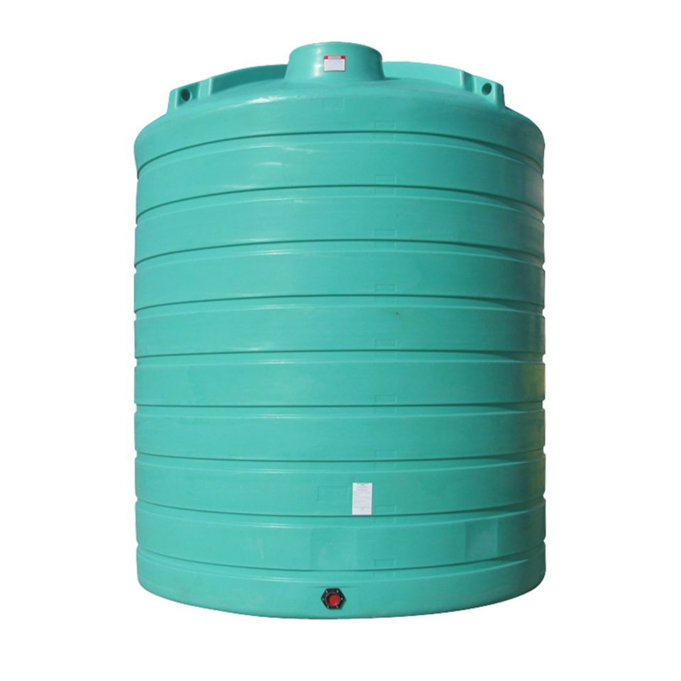 Enduraplas 10,000 Gallon Flat Bottom Storage Tank