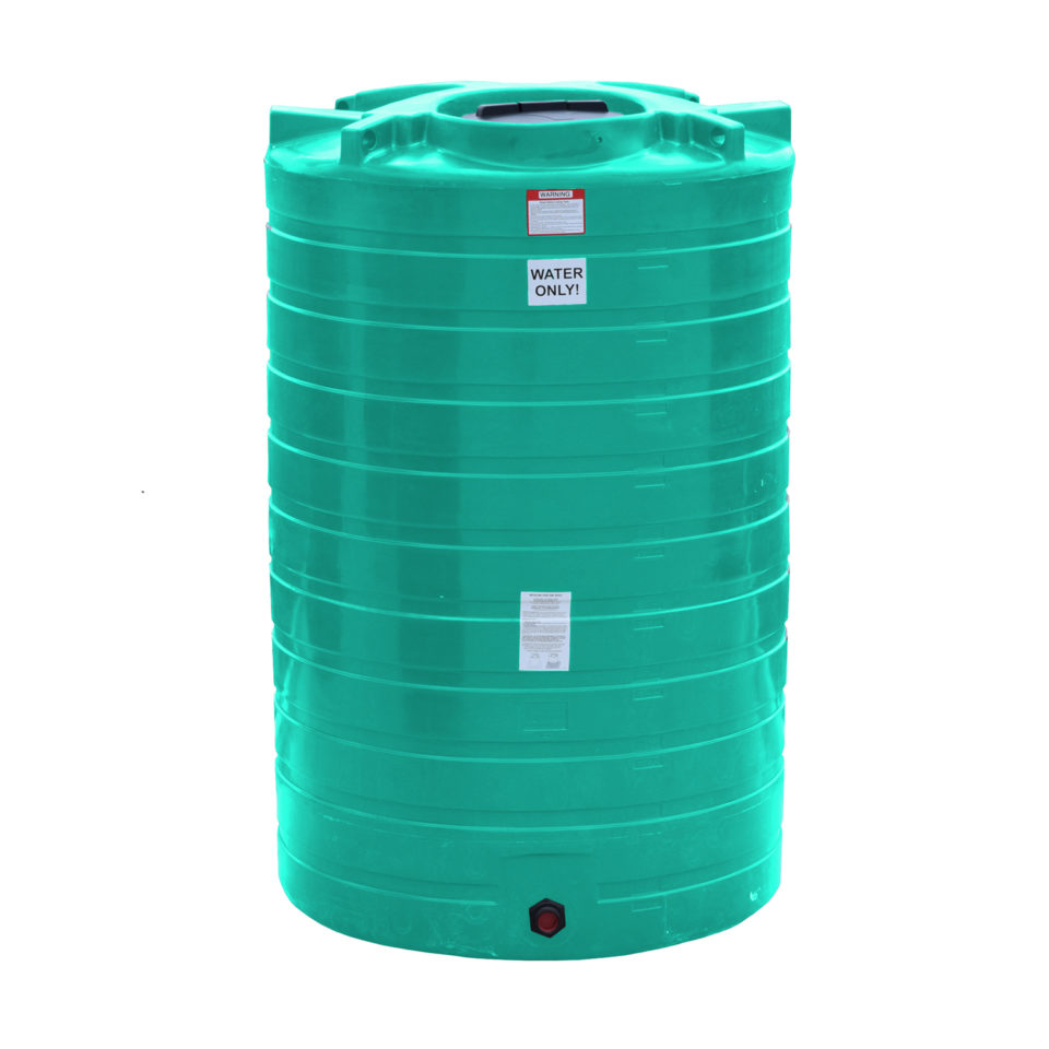 Enduraplas 1,100 Gallon Flat Bottom Storage Tank