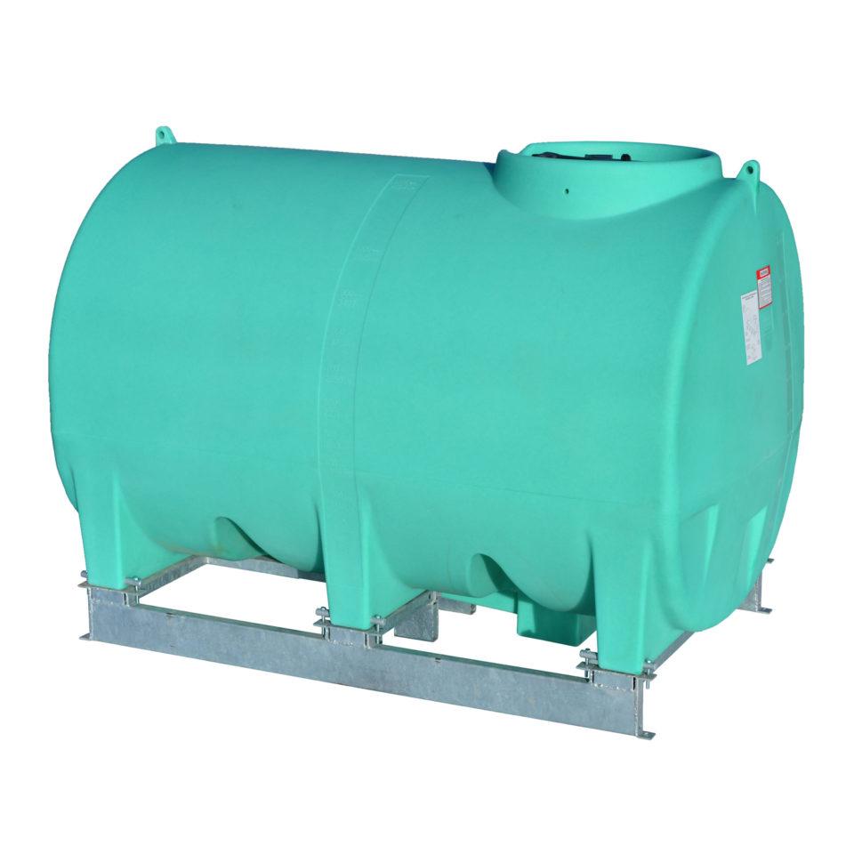 Enduraplas 1,200 Gallon Sump Bottom Transport Tank With Frame