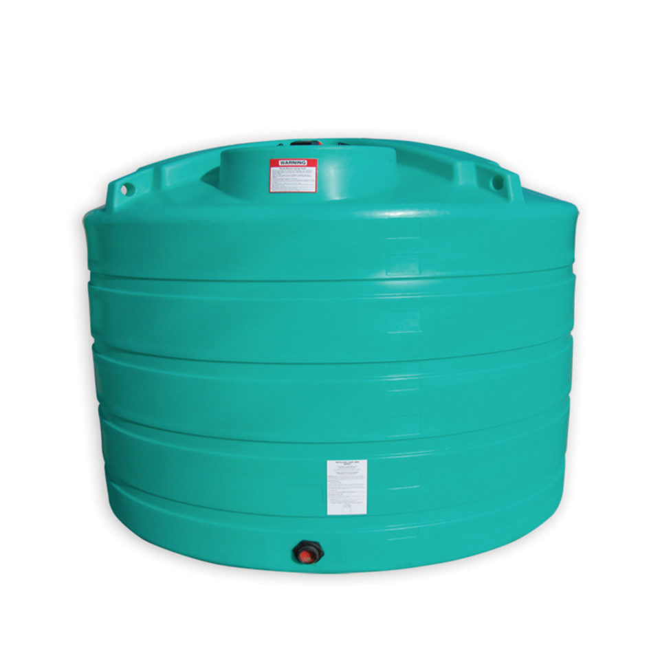 Enduraplas 1,350 Gallon Flat Bottom Storage Tank