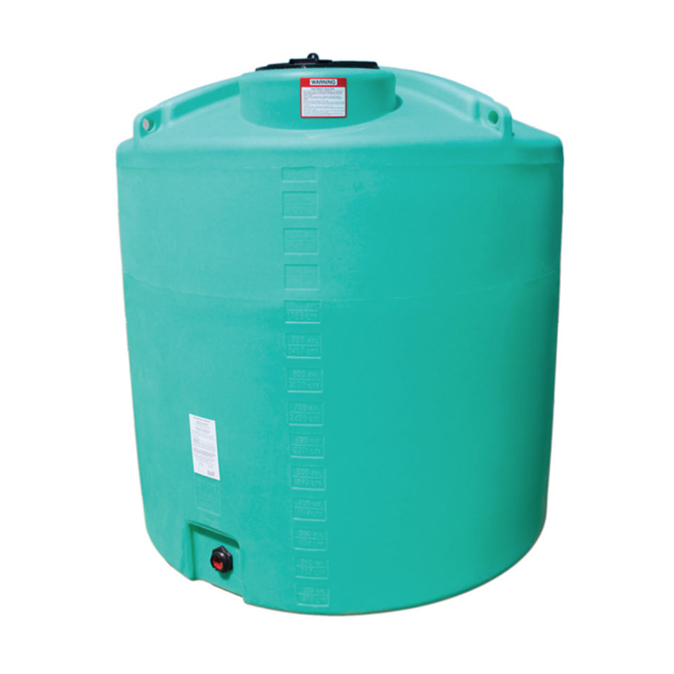 Enduraplas 1,400 Gallon Flat Bottom Storage Tank