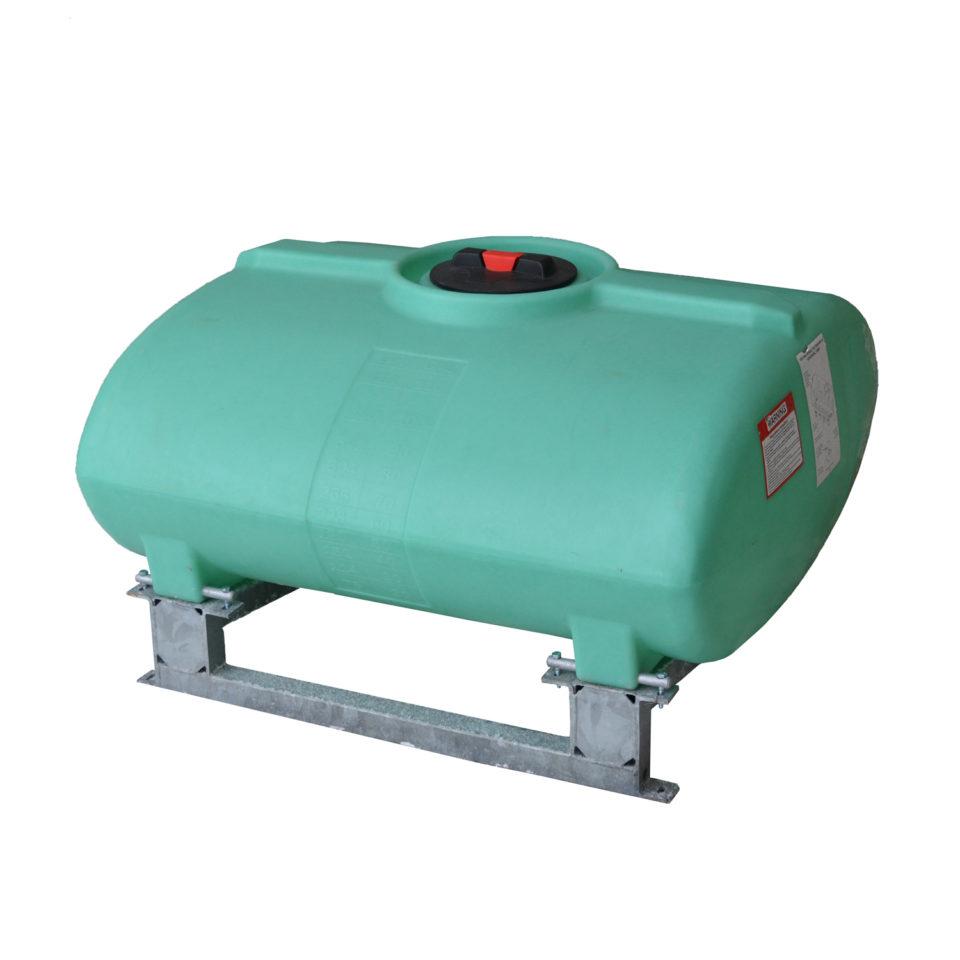 Enduraplas 150 Gallon Sump Bottom Transport Tank With Frame