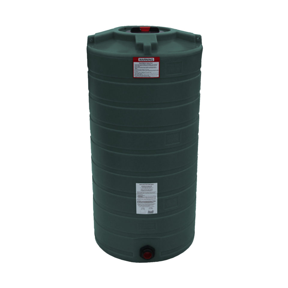 Enduraplas 150 Gallon Water Storage Tank