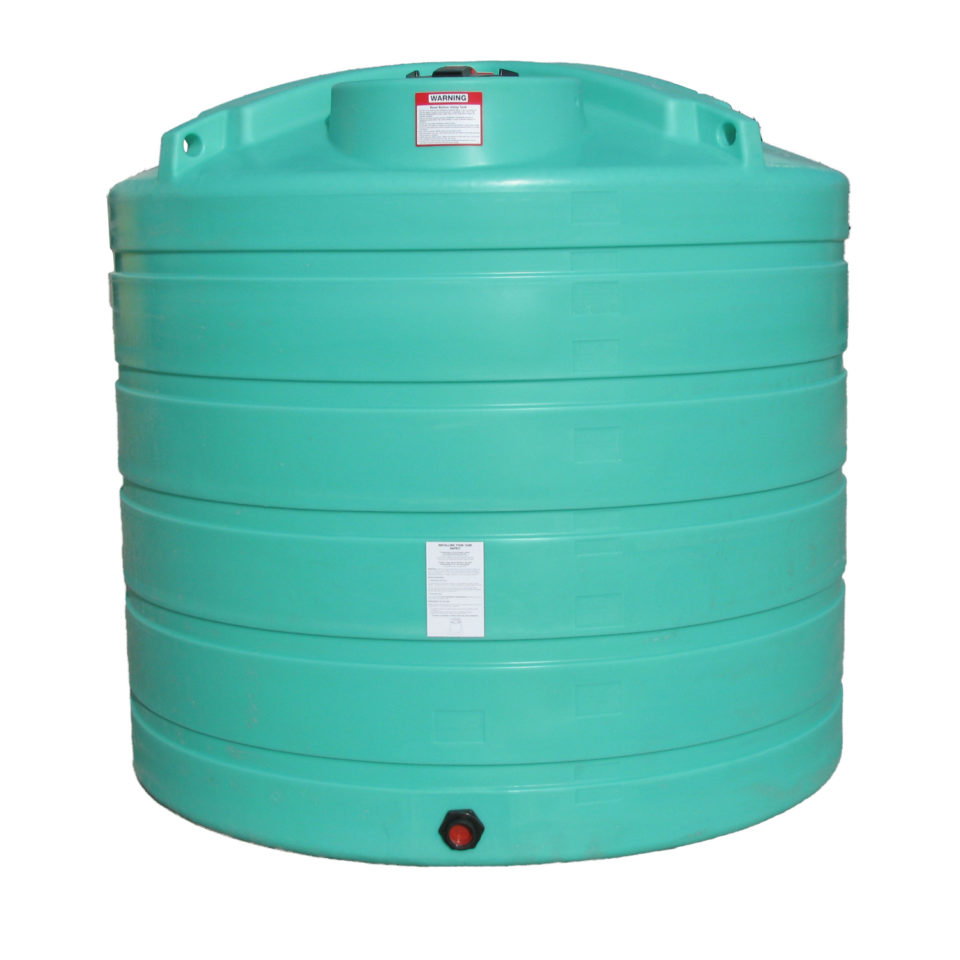 Enduraplas 1,550 Gallon Flat Bottom Storage Tank