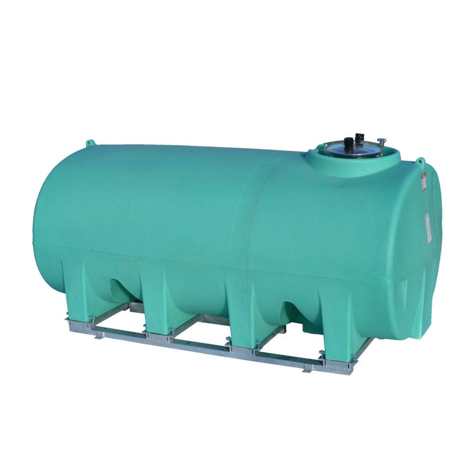 Enduraplas 1,600 Gallon Sump Bottom Transport Tank With Frame