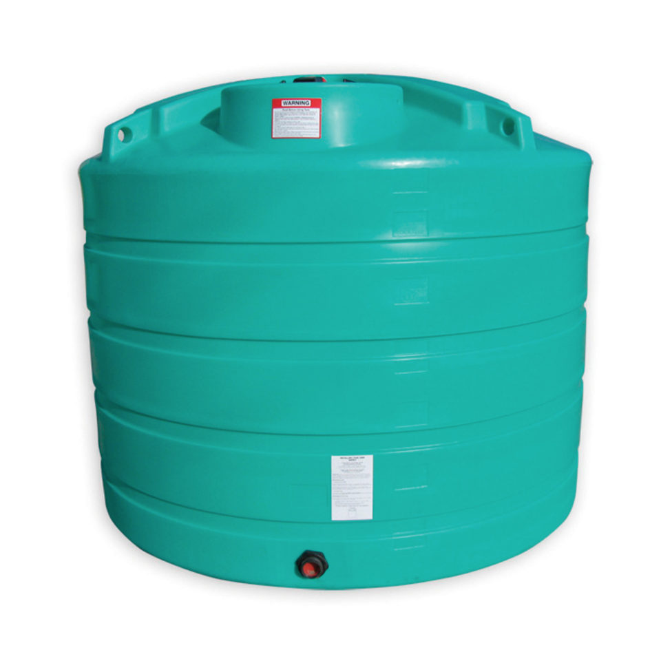 Enduraplas 1,650 Gallon Flat Bottom Storage Tank