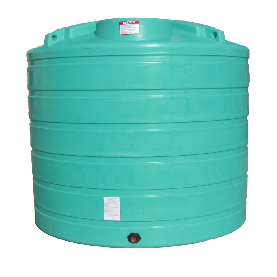 Enduraplas 1,750 Gallon Flat Bottom Storage Tank