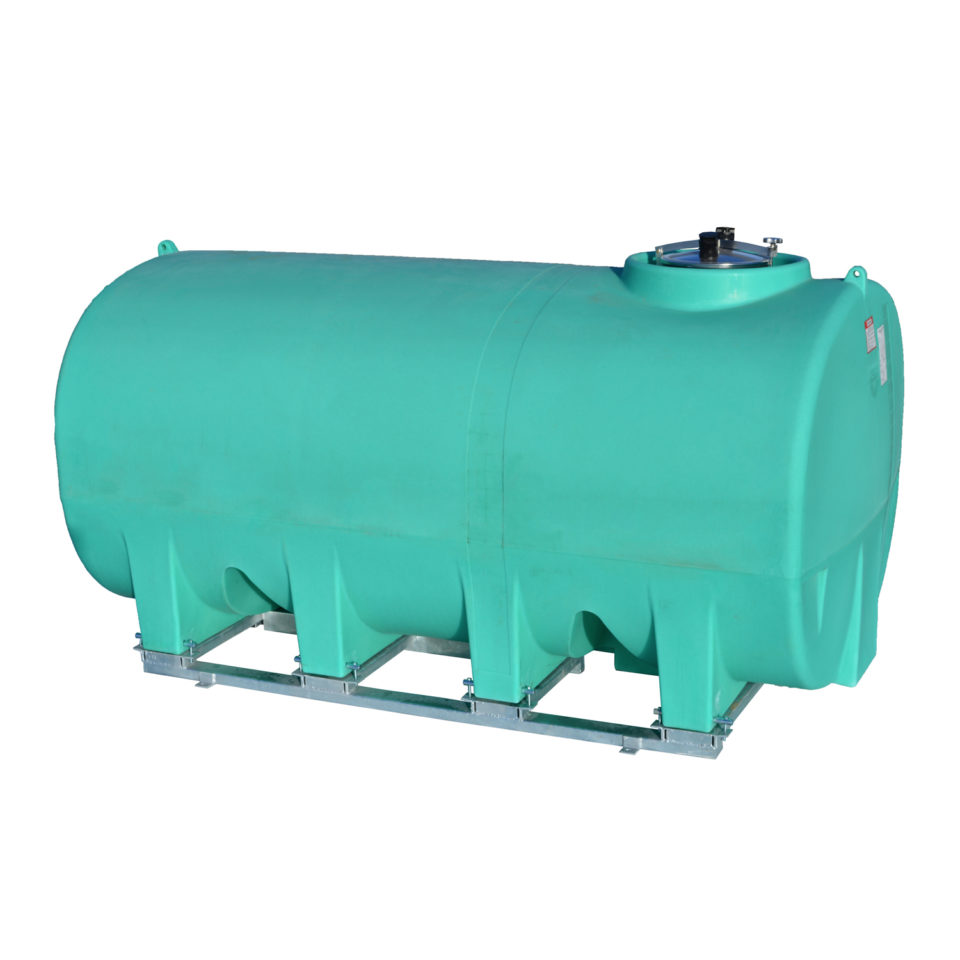 Enduraplas 1,900 Gallon Sump Bottom Transport Tank With Frame