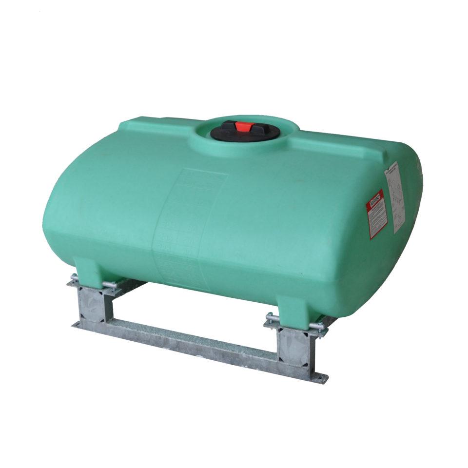 enduraplas 200 Gallon Sump Bottom Transport Tank With Frame