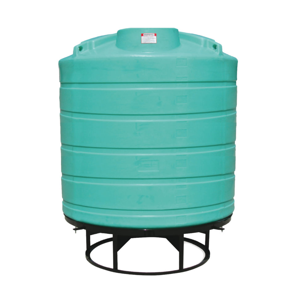 Enduraplas 2,000 Gallon Cone Bottom Storage Tank