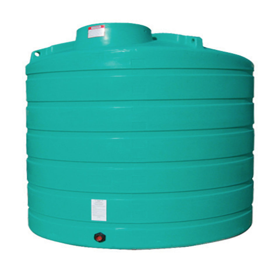 Enduraplas 2,000 Gallon Flat Bottom Storage Tank