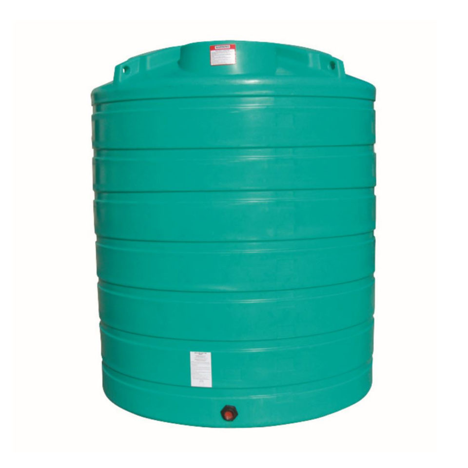 Enduraplas 2,100 Gallon Flat Bottom Storage Tank