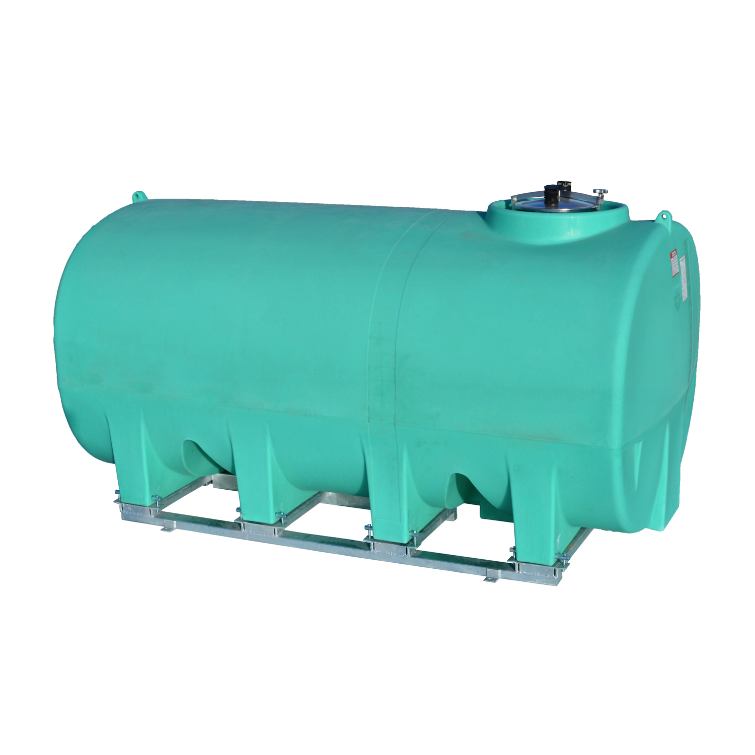 Enduraplas 2,200 Gallon Sump Bottom Transport Tank With Frame