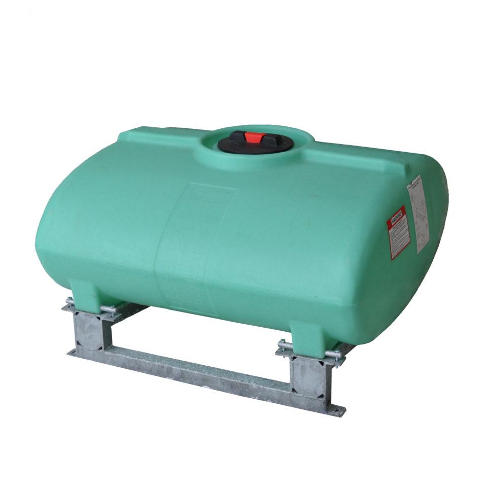 Enduraplas 250 Gallon Sump Bottom Transport Tank With Frame