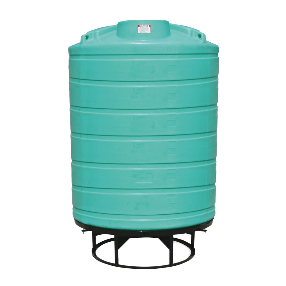 Enduraplas 2,500 Gallon Cone Bottom Storage Tank