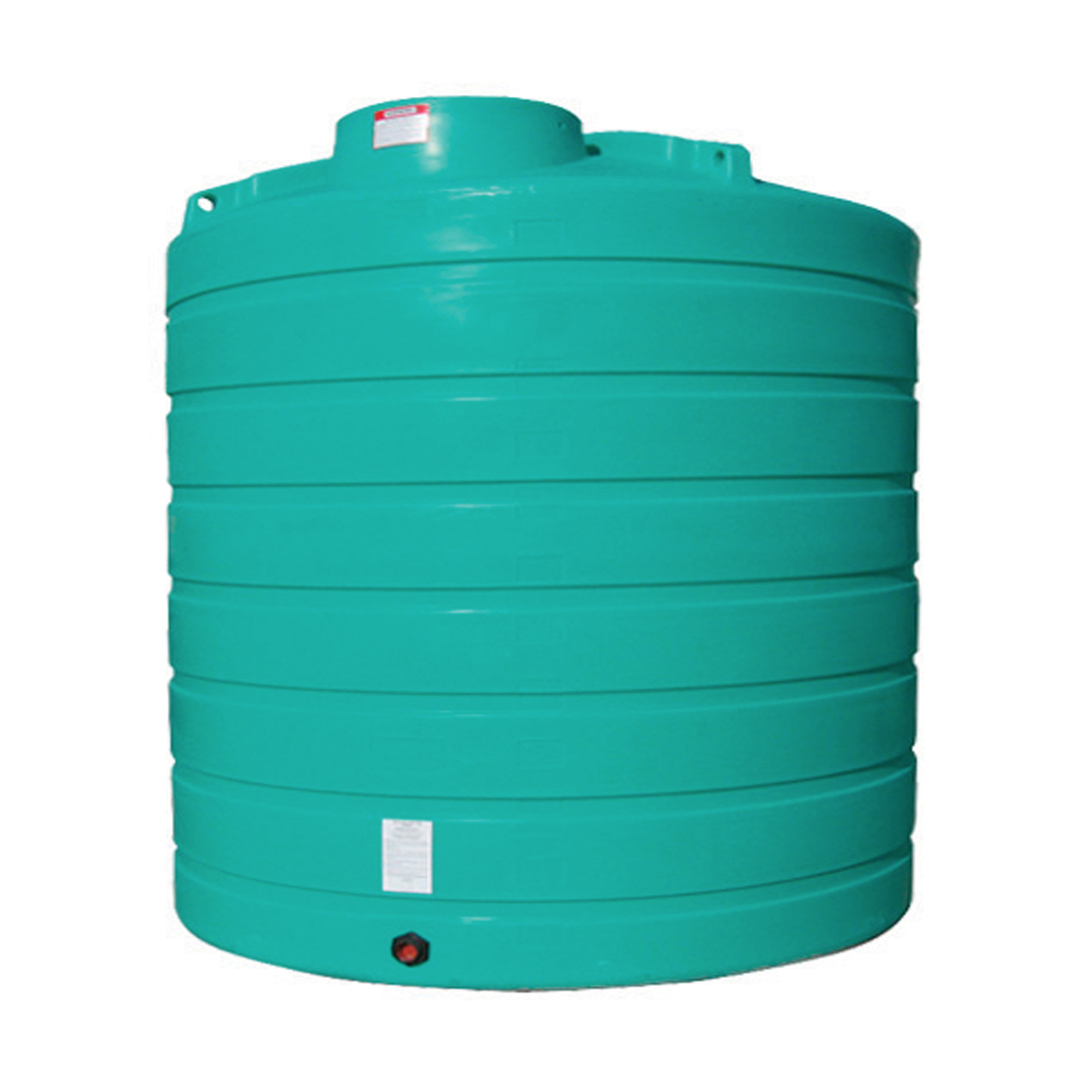 Enduraplas 2,500 Gallon Flat Bottom Storage Tank