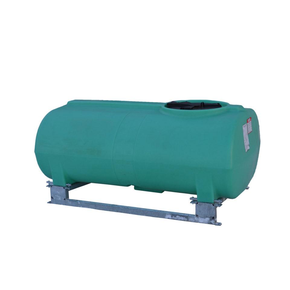 Enduraplas 300 Gallon Sump Bottom Transport Tank With Frame