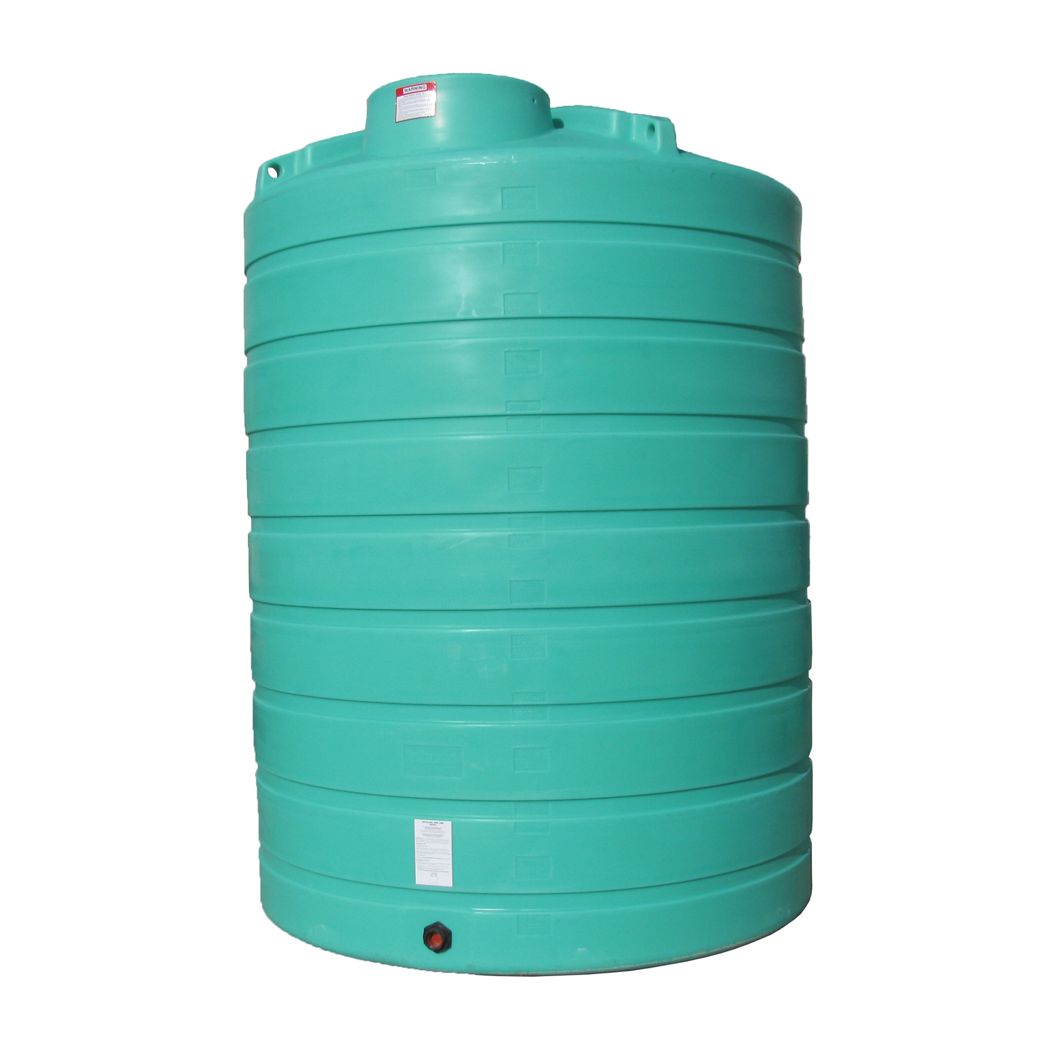 Enduraplas 3,000 Gallon Flat Bottom Storage Tank