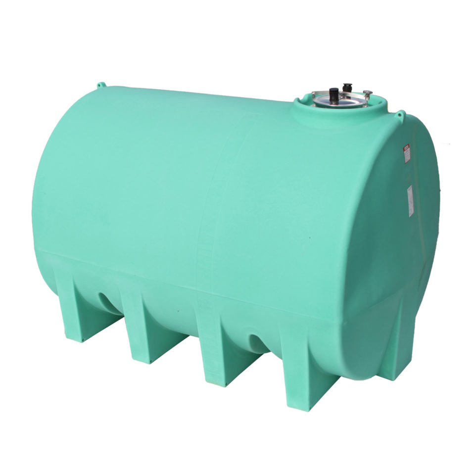 Enduraplas 3,000 Gallon Sump Bottom Transport Tank Without Frame