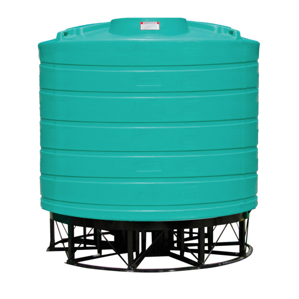 Enduraplas 3,200 Gallon Cone Bottom Storage Tank