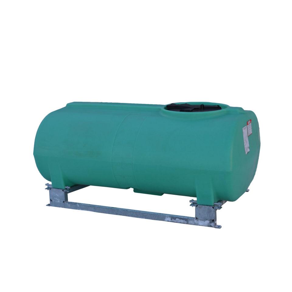 Enduraplas 400 Gallon Sump Bottom Transport Tank With Frame