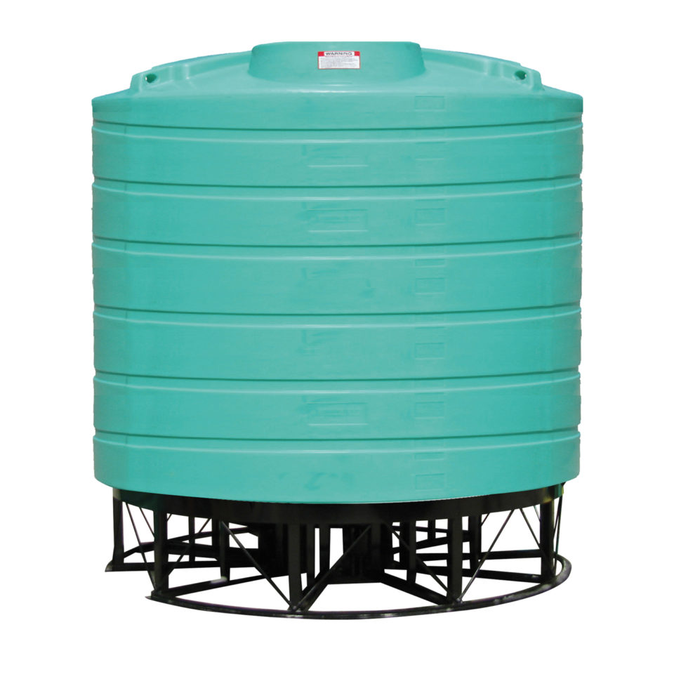 Enduraplas 4,000 Gallon Cone Bottom Storage Tank