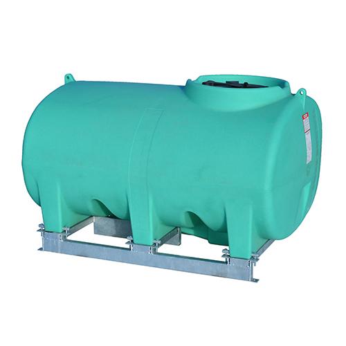Enduraplas 500 Gallon Sump Bottom Transport Tank With Frame