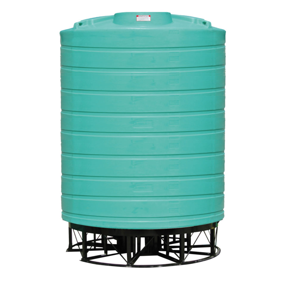 Enduraplas 6,000 Gallon Cone Bottom Storage Tank