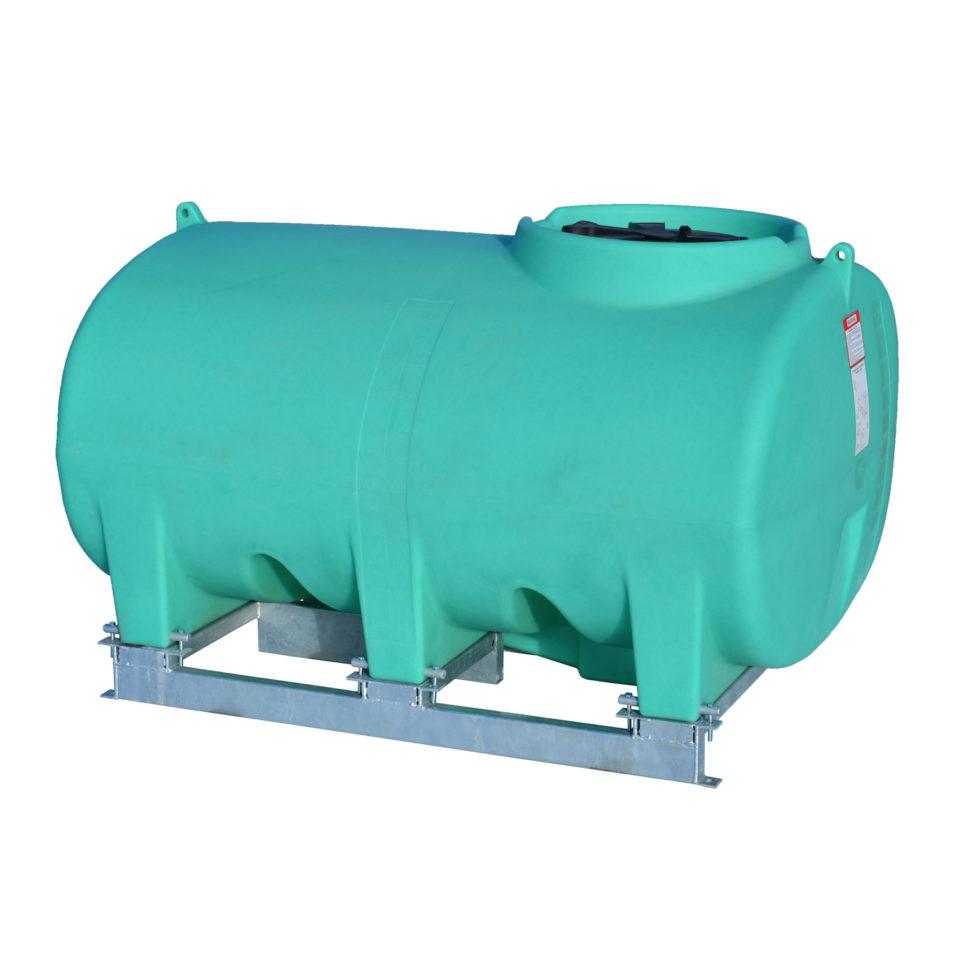 Enduraplas 800 Gallon Sump Bottom Transport Tank With Frame