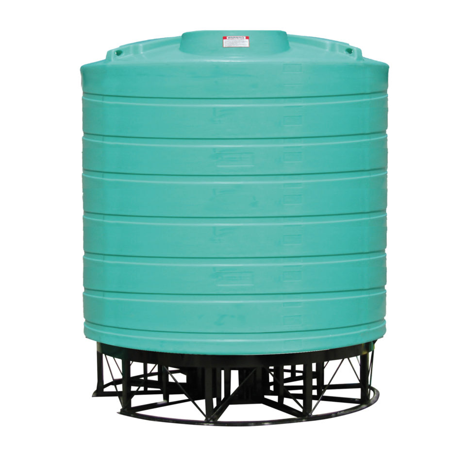 Enduraplas 8,000 Gallon Cone Bottom Storage Tank