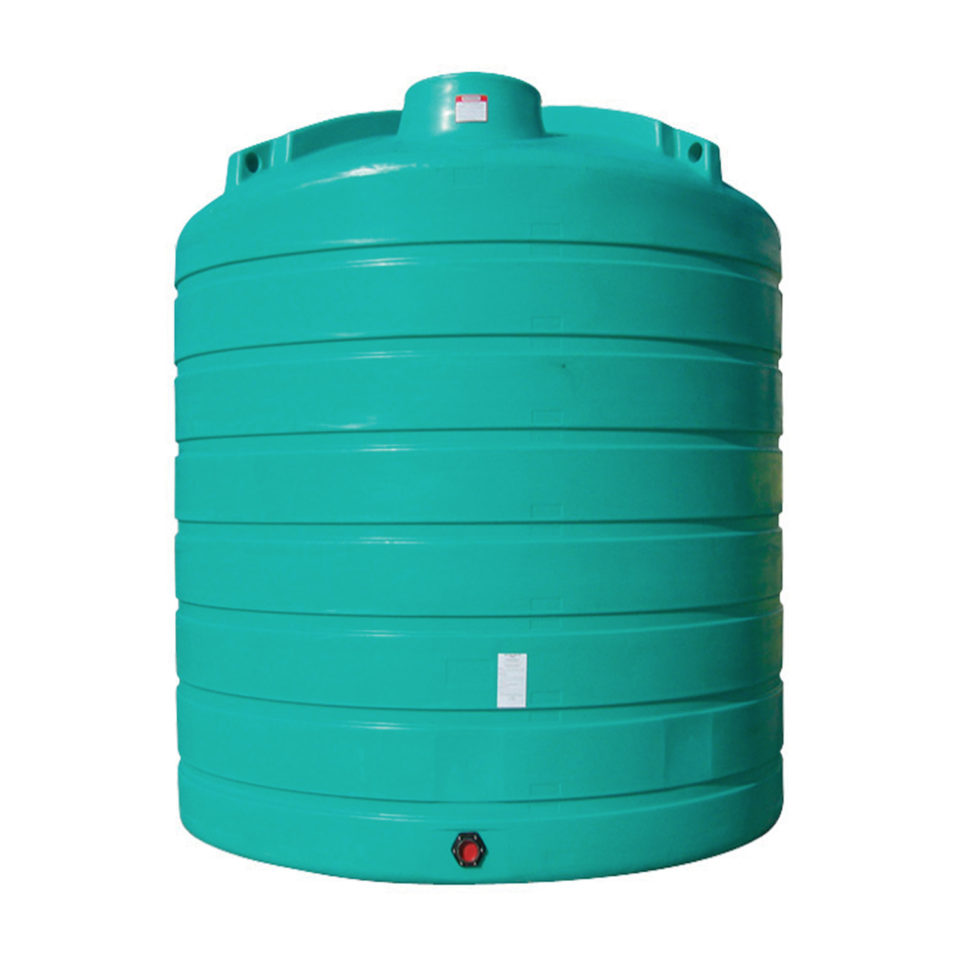 Enduraplas 8,000 Gallon Flat Bottom Storage Tank